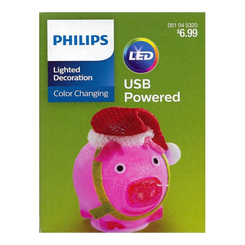 Philips Color-Changing LED Lighted Decoration (USB Powered) Select Design
