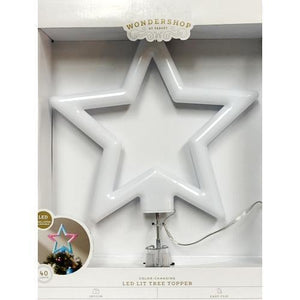"40 Light Color-Changing Star LED Lit Christmas Tree Topper - Durable (12.5"") 20% to 80% Off at DollarFanatic.com America's Online Dollar Store"