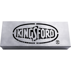 "Kingsford Stainless Steel Smoker Box (9"" x 3-3/4"" x 1-1/2"") Turns Any Grill into a BBQ Smoker"