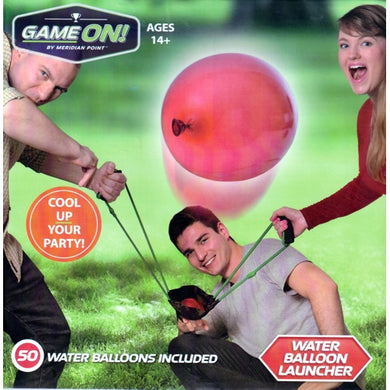 Game ON! Water Balloon Launcher (50 Water Balloons Included)