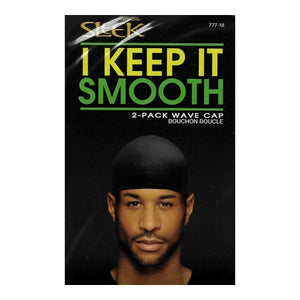 Sleek Hair Wave Caps (2 Pack) I Keep It Smooth