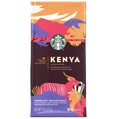 Out of Date - Starbucks Kenya African Blend Whole Bean Coffee (Net Wt. 9 oz.)