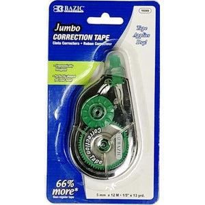 Jumbo Correction Tape (5mm x 12M) with Free Local Delivery in Champaign & Vermilion County IL.