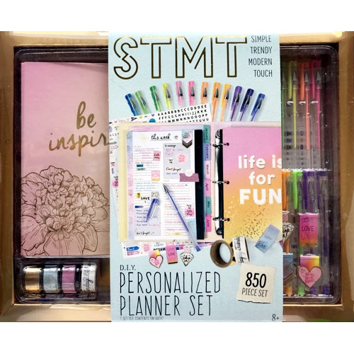 STMT DIY Personalized Planner Set (1 Set) Stay Organized in Style