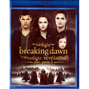 The Twilight Saga Breaking Dawn Part 2 (Blu-Ray DVD)
