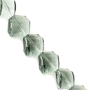 "Craft Medley Diamond Twist-Cut Faceted Acrylic Beads (7"" Strand) Select Color"