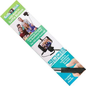 "Selfie On A Stick with Built-In Selfie Button (42"" long) 20% to 80% Off at DollarFanatic.com America's Online Dollar Store"