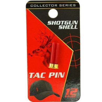 Tac Pin Collector Series - 12 Gauge Shotgun Shell (Select Color) with Free Local Delivery in Champaign & Vermilion County IL.