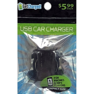 Get Charged Slim USB Car Charging Port