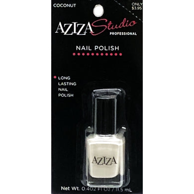 Aziza Studio Professional Nail Polish - Coconut (0.402 fl. oz.)