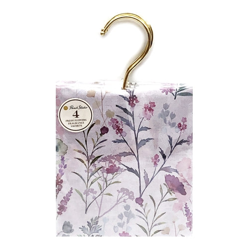 Hanging Fragrance Sachets (4 Pack) Select Scent