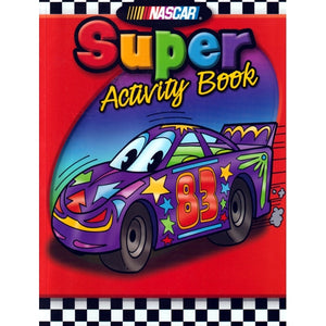 Nascar Super Coloring & Activity Book (64 Pages)