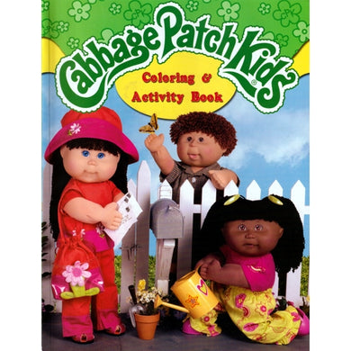 Cabbage Patch Kids Coloring & Activity Book (64 Pages)