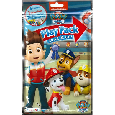 Nickelodeon Paw Patrol Fun Size Play Pack (Coloring Book, Stickers, Crayons)