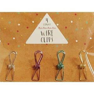 All-Purpose Wire Metal Binder Clips (4 Pack) with Free Local Delivery in Champaign & Vermilion County IL.