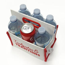 Tailgates & Traditons Canvas Caddy (Holds 6 Cans or Bottles) with Free Local Delivery in Champaign & Vermilion County IL.