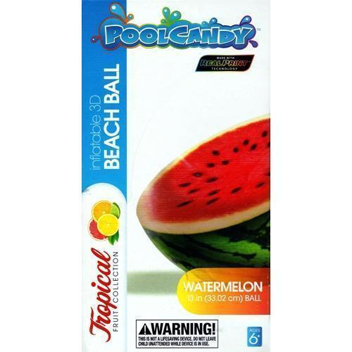 Watermelon Beach Ball (Inflates to 13