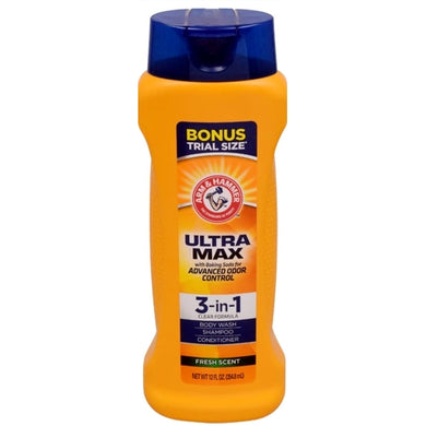 Arm & Hammer Ultra Max 3-in-1 Body Wash - Fresh Scent (12 fl. oz.)