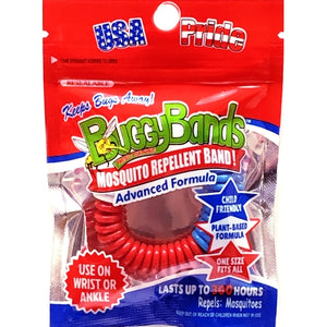 BuggyBands Mosquito Repellent Wristband  - Patriotic (1 Bracelet) Lasts up to 300 Hours