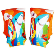 Swimming Armband Floats - Ages 5-12 (One Pair) Penguin or Shark
