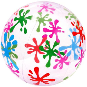 "20"" Designer Colorful Beach Ball (Paint Splat) with Free Local Delivery in Champaign & Vermilion County IL."