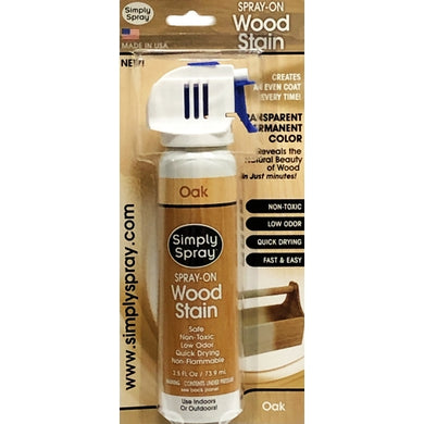 Simply Spray Spray-On Wood Stain (Oak)