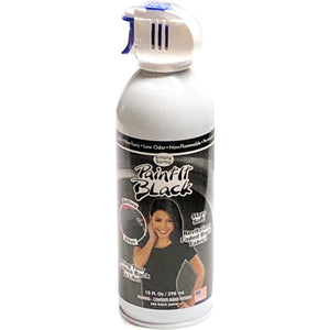 Simply Spray Paint-It Black Fabric Paint (Revitalizes Faded Black Cotton Fabric)