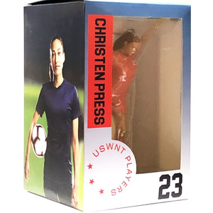 "Christen Press #23 USWNT Soccer Players Collectible Vinyl Figure (6.5"")"