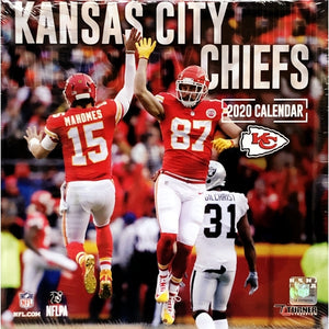 Kansas City Chiefs 2020 Monthly Calendar (Sports Collectible)