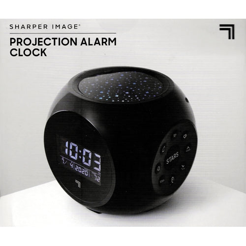 Sharper Image Projection Alarm Clock (Battery Operated)