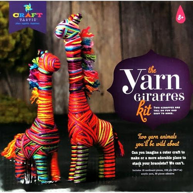 Craft-tastic The Yarn Giraffes Kit (Craft Kit) at DollarFanatic.com America's Exclusively Online Dollar Stores.