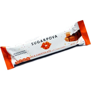 Sugarpova Milk Chocolate with Creamy Caramel Bar (Net Wt. 1.5 oz.)