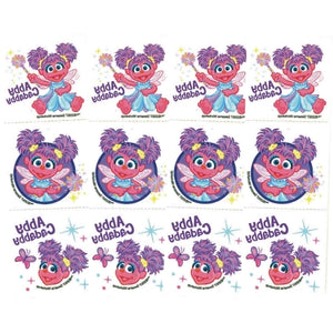Sesame Street Abby Cadabby Temporary Tattoos (Pack of 12)