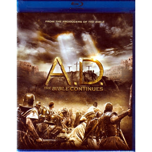 A.D. The Bible Continues (4-Blu-Ray Disc Set)