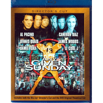 Any Given Sunday - Director's Cut (Blu-Ray Disc)