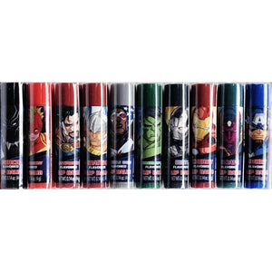 Avengers Flavored Lip Balm Set (10 Pack)
