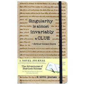 A Novel Journal - The Adventures of Sherlock Holmes (192 Pages) The Journal Lines are the Novel