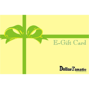 Dollar Fanatic Online Dollar Store E-Gift Card
