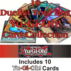 Yu-Gi-Oh! Duelist Tool Box Collection Lot with 10 Different YuGiOh Cards