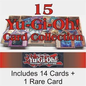 Yu-Gi-Oh! Collection 15 Cards Lot with 14 Commons & 1 Rare Yugioh Card
