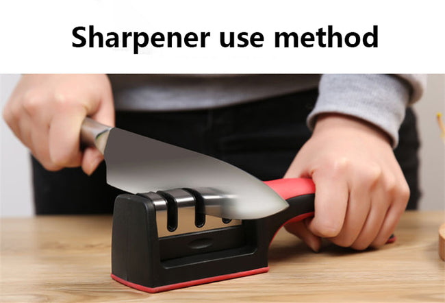 Professional 3 Stages Sharpener Knife Grinder