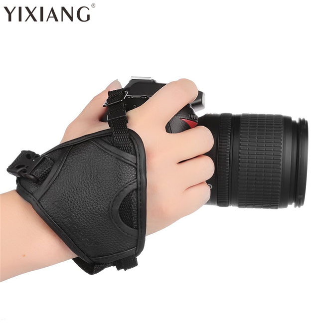 Camera Leather Grip