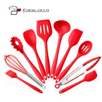 Silicone Kitchen Utensils (10 pieces)