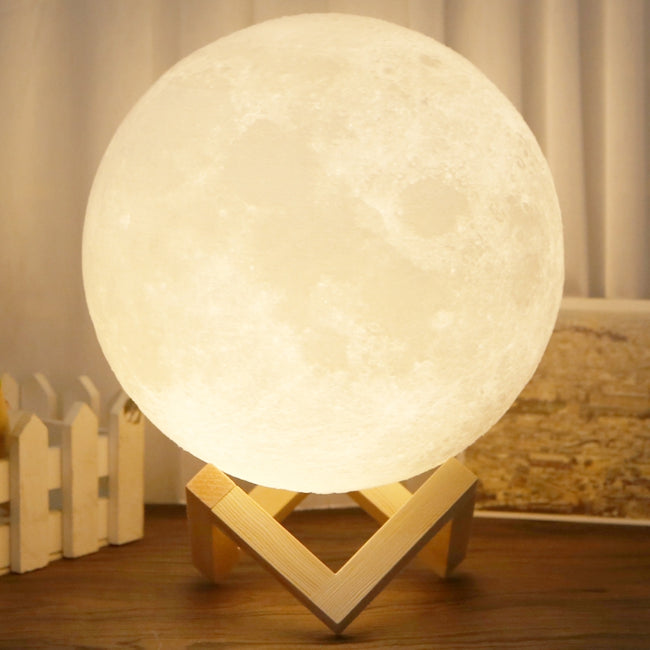 Rechargeable 3D Magical LED Moon Lamp