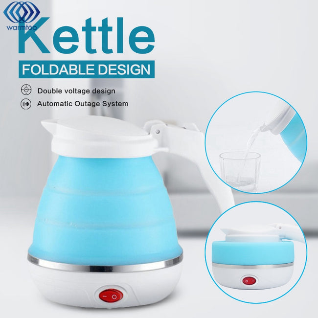 Electric Kettle Silicone Foldable