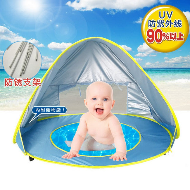 Baby beach uv-protection tent