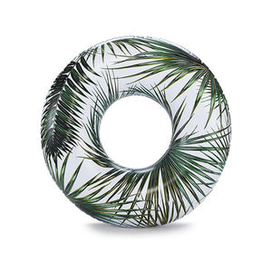 Inflatable Fern Ring Pool Floatie - inflatable fern ring pool float, adult floatie