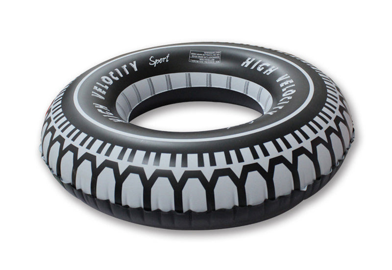 Inflatable Tire Pool Floatie - tire inflatable pool float, adult floatie