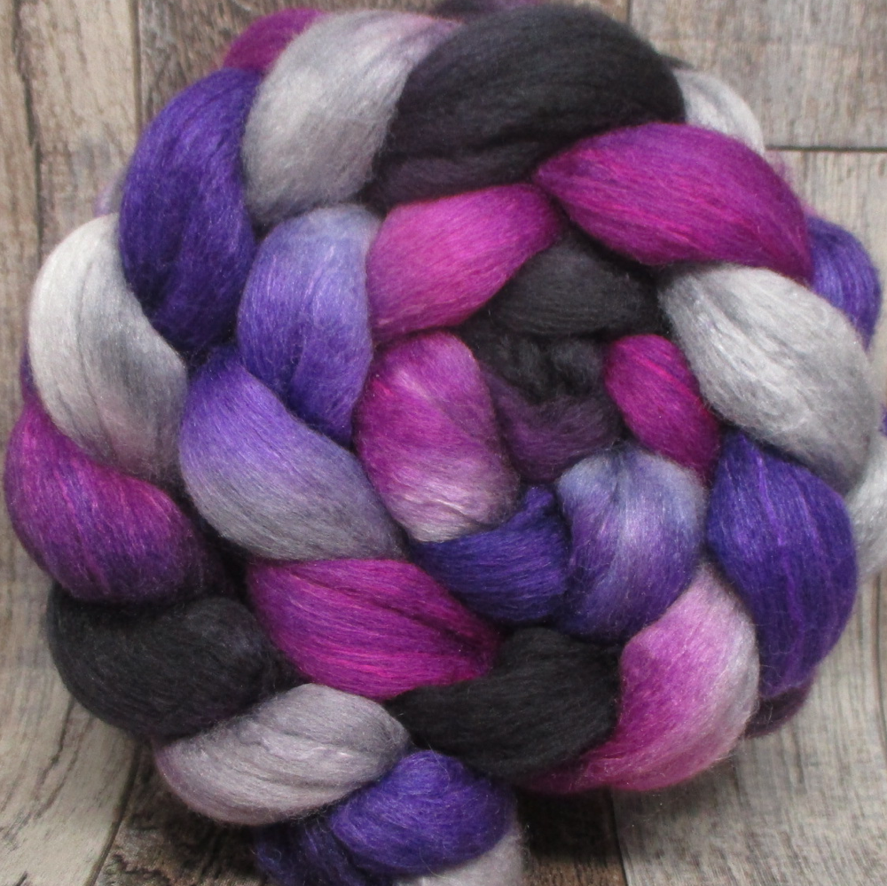 Bacchus -- 75/25 Polwarth/Silk