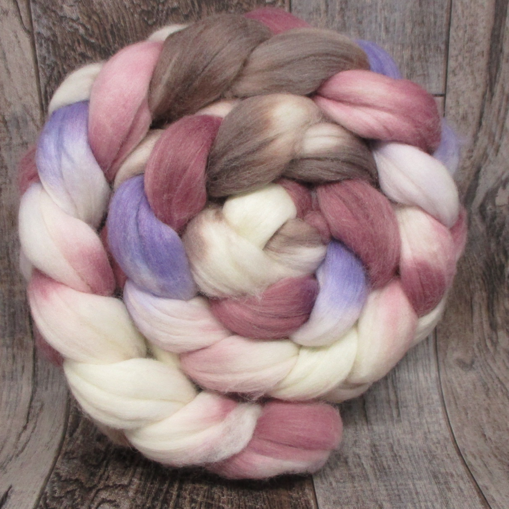 Magnolia -- Superwash Merino/Nylon Fiber